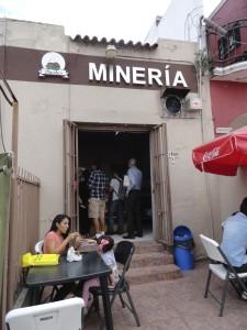 Pastes Minería in Calle Morelos
