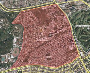 Providencia Map
