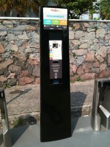 a mibici system kiosk in guadalajara jalisco