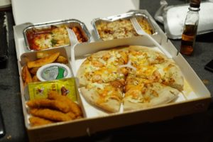 pizza box takeout